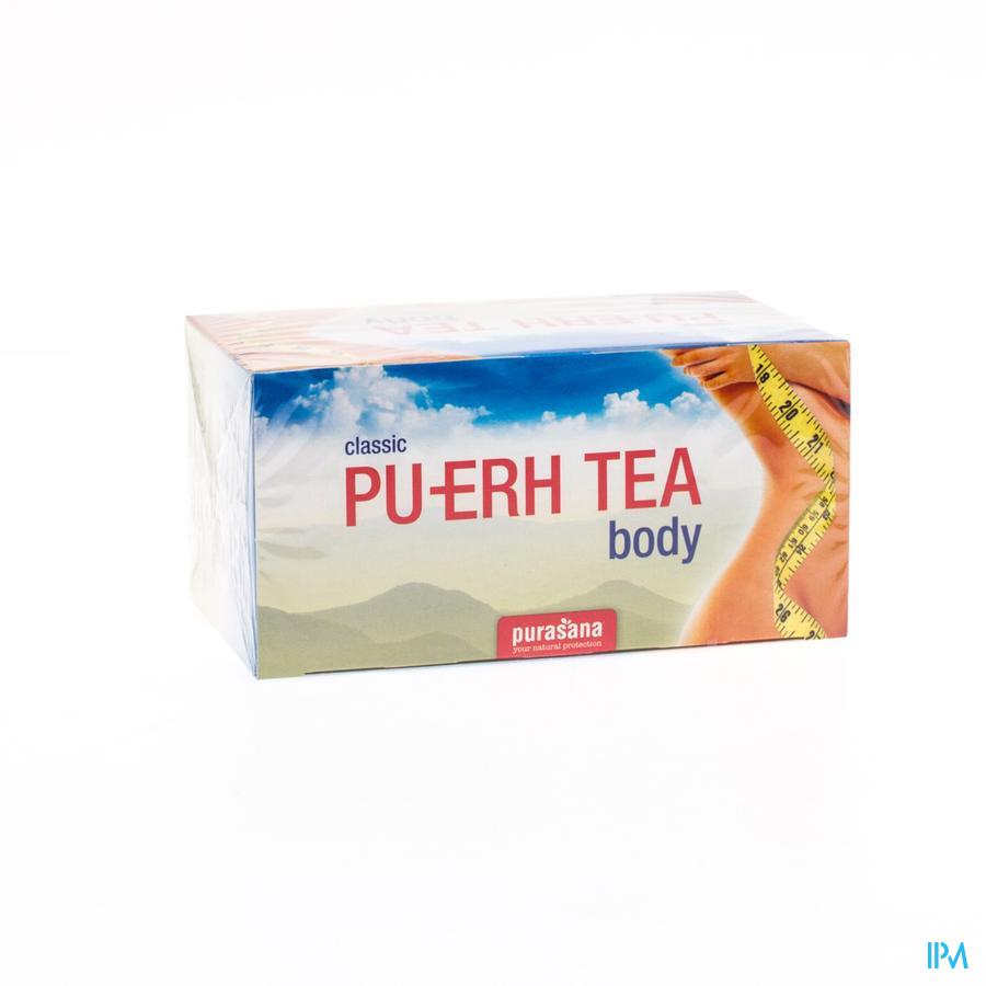 Pu-erh Tea Le Mange-graisse Sach 20