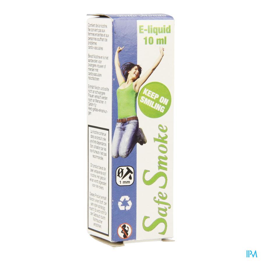 Safe Smoke E-liquid 12mg/ml Nicotine Mint 10ml
