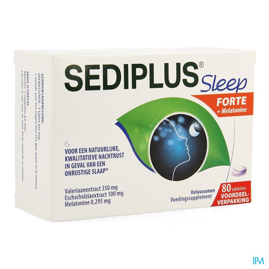 Sediplus Sleep Forte Comp 80
