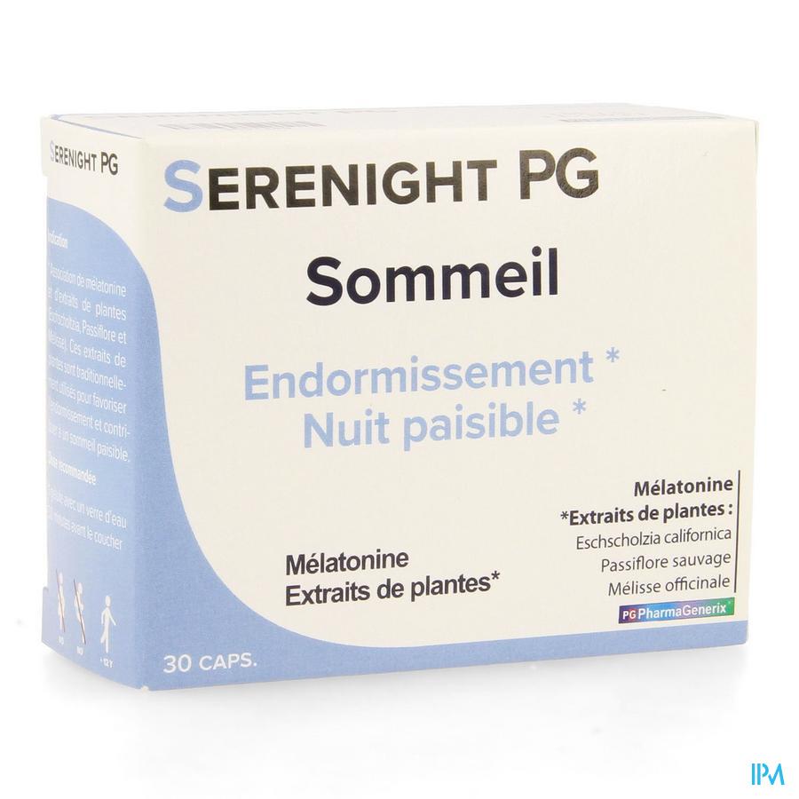 Serenight Pg Pharmagenerix Caps 30