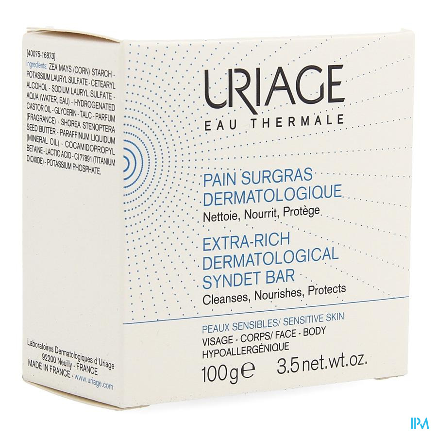 Uriage Thermale Pain Surgras 100g