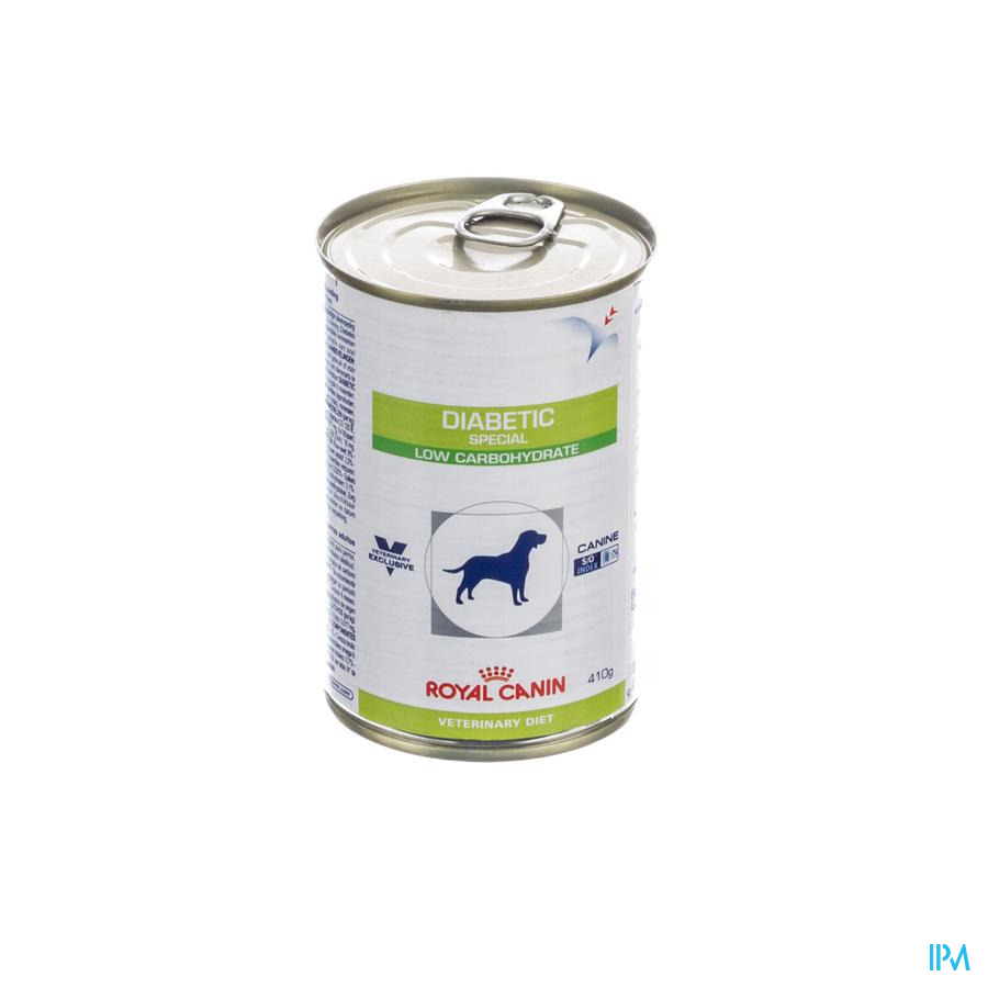 Vdiet Diabetic Low Carb Canine 12x410g