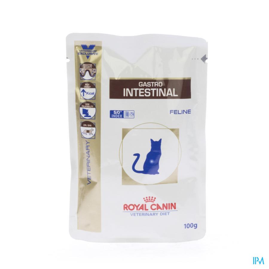 Vdiet Gastro Intestinal Feline (pouch) 12x100g