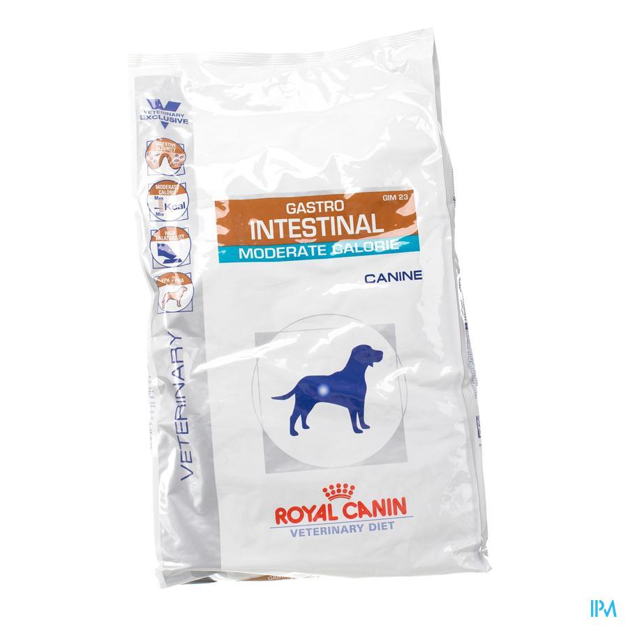 Vdiet Gastro Intestinal Mod Cal Canine 7,5kg