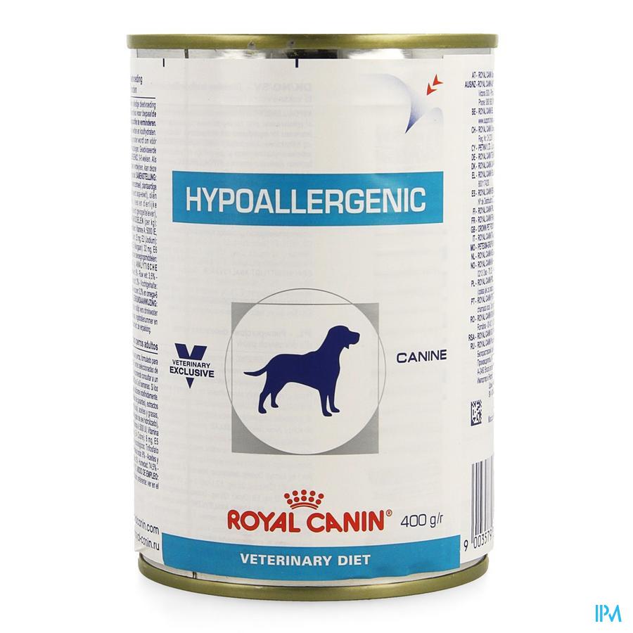 Vdiet Hypoallergenic Canine 12x400g