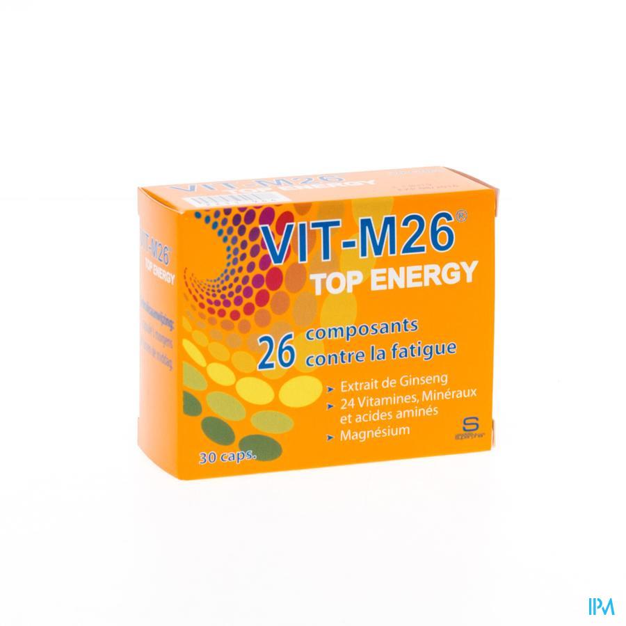 Vit M26 Top Energy Caps 30