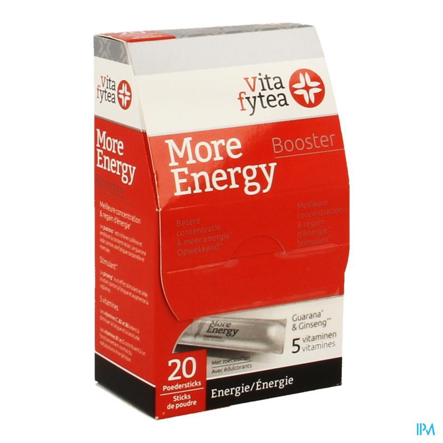Vitafytea More Energy Booster Pdr Stick 20