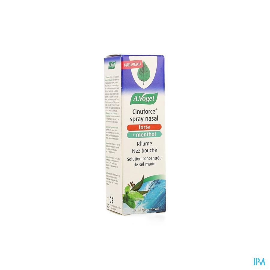 Vogel Cinuforce Spray Nasal Forte + Menthol 20ml