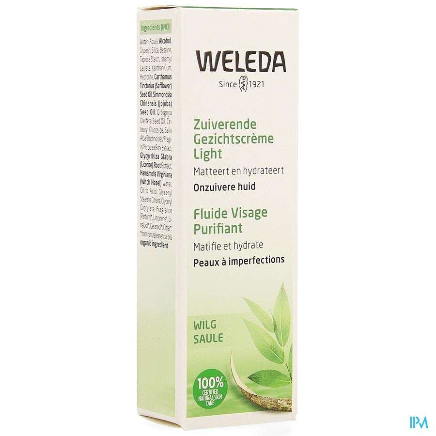 Weleda Fluide Matifiant (vegan) 30ml