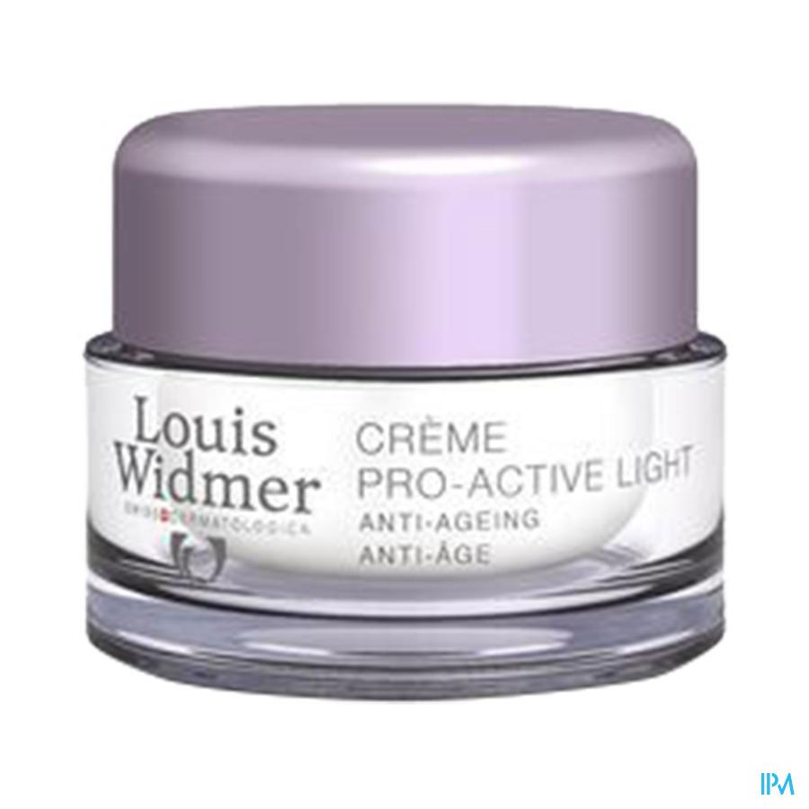 Widmer Cr Pro-active Light N/parf Cr Nuit Pot 50ml