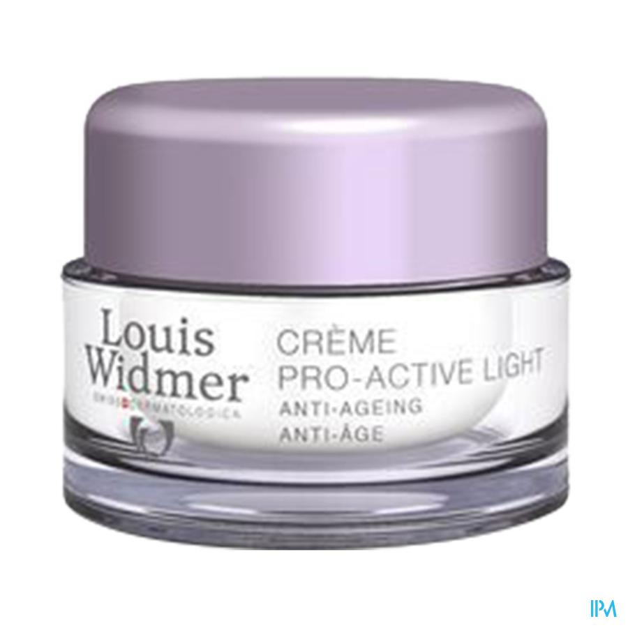 Widmer Cr Pro-active Light Parf Cr Nuit Pot 50ml