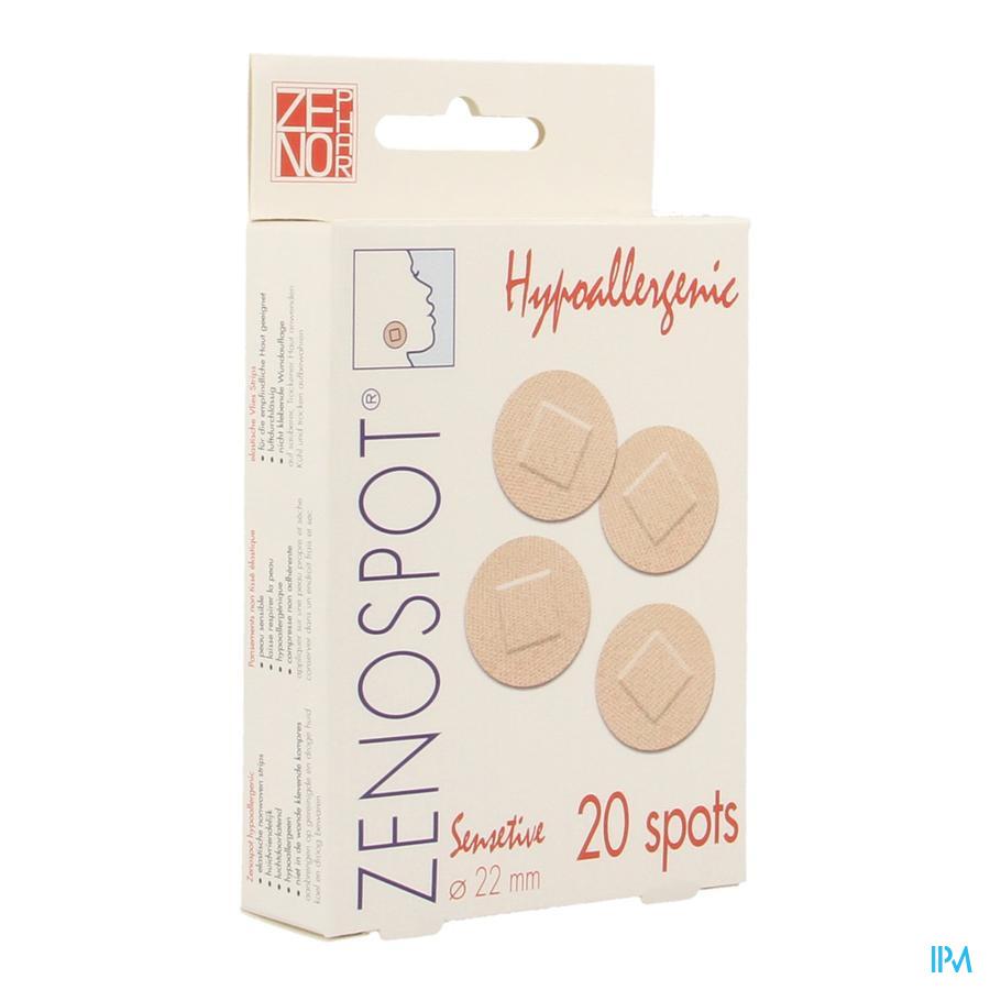 Zenospot 22mm 20 Sensitive Pansement