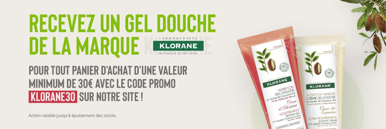 Code promo KLORANE30